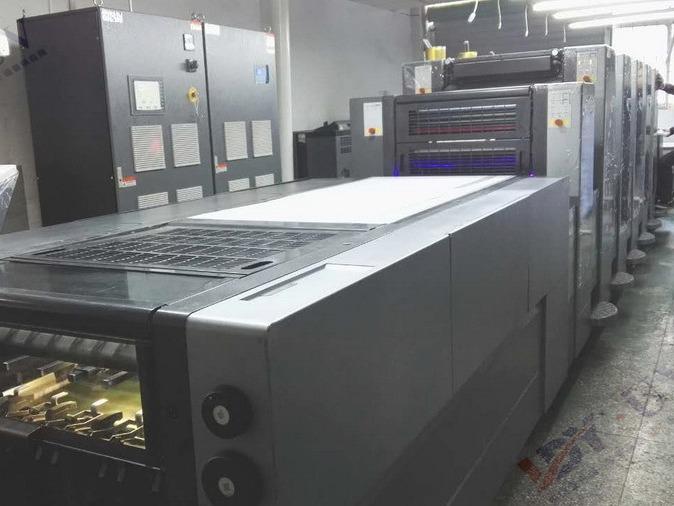 海德堡SM52LED UV系统