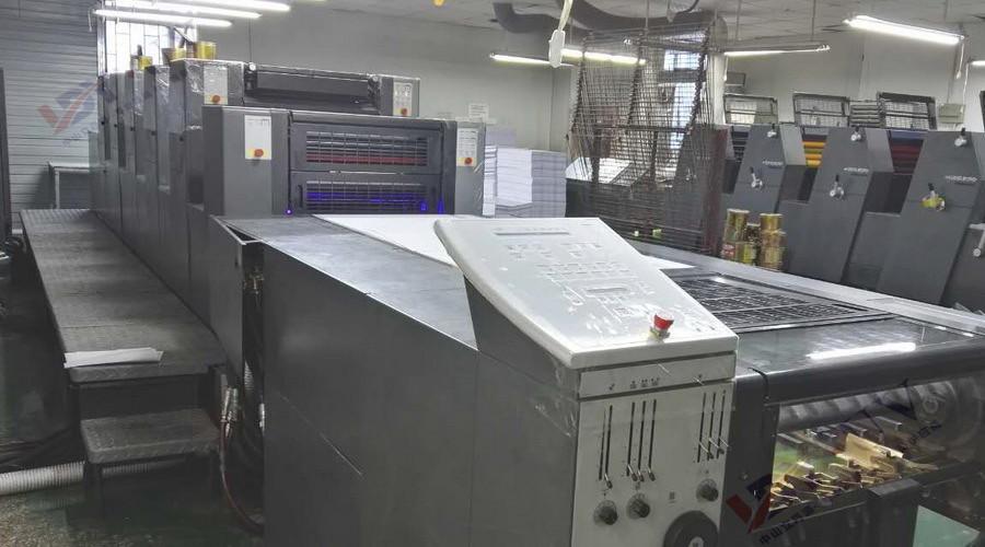 海德堡SM52 LED UV设备