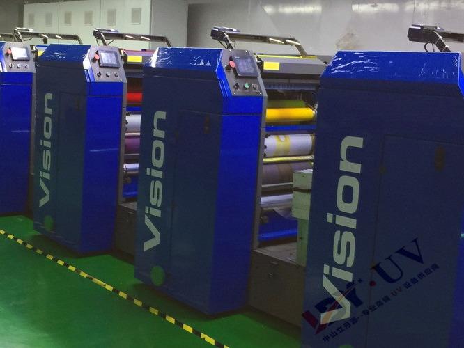 中罗轮转机配套水冷UV系统