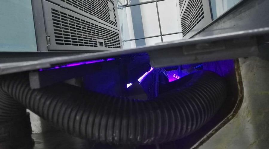 罗兰500加装LED UV设备