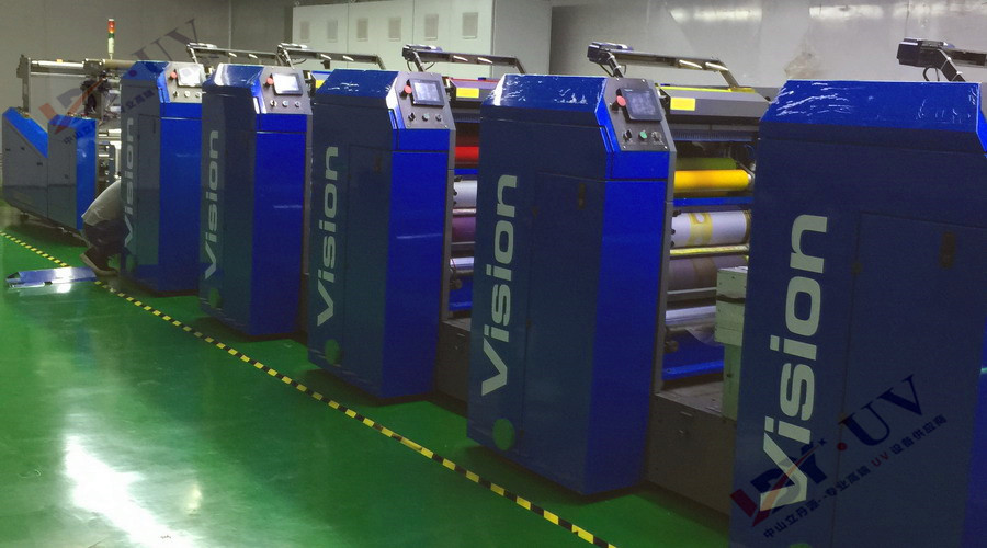 轮转机配套水冷UV系统