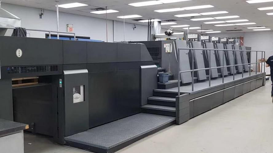 深圳捷达海德堡XL75加装水冷uv设备案例
