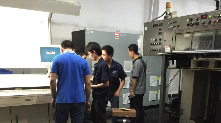 三菱胶印加装水冷uv系统