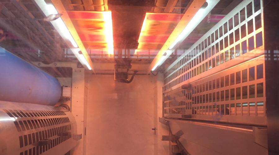 纸箱柔印机红外线IR干燥系统