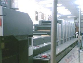 海德堡CD102加装水冷UV系统